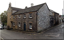SK2168 : Corner of North Church Street and Church Alley, Bakewell by Jaggery