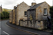 SK2168 : Houses on a bend in South Church Street, Bakewell by Jaggery