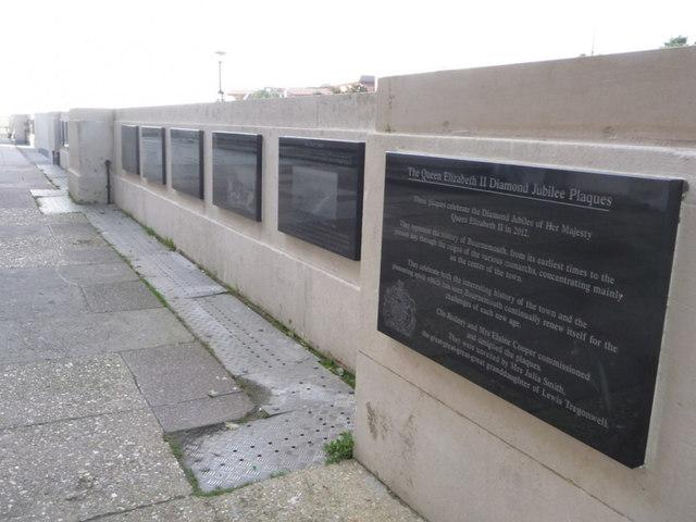 Bournemouth: Diamond Jubilee Plaques