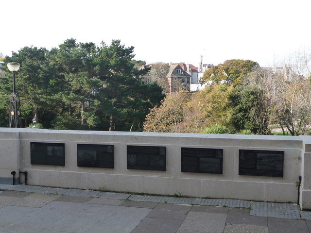 Bournemouth: five of the Diamond Jubilee Plaques