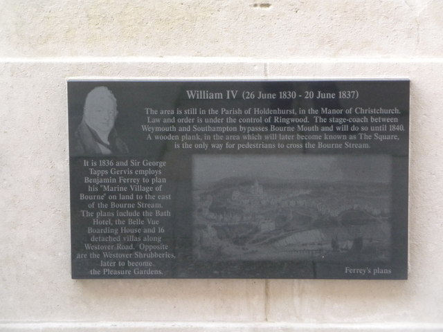Bournemouth: Diamond Jubilee Plaque (5)
