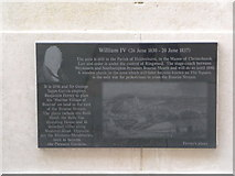 SZ0890 : Bournemouth: Diamond Jubilee Plaque (5) by Chris Downer