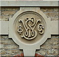 ST7748 : Datestone on the Selwood Printing Works by Humphrey Bolton