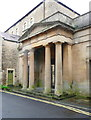 ST7748 : Entrance portico to the Badcox Chapel by Humphrey Bolton