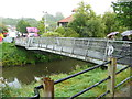 ST7748 : Footbridge over the River Frome by Humphrey Bolton