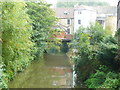 ST7748 : The River Frome form the footbridge by Humphrey Bolton