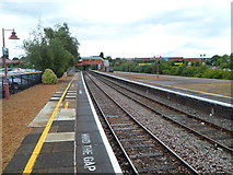 SP1955 : Stratford-upon-Avon railway station viewed from the north by Jaggery