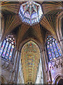 TL5480 : Octagon and nave, Ely Cathedral by William Starkey