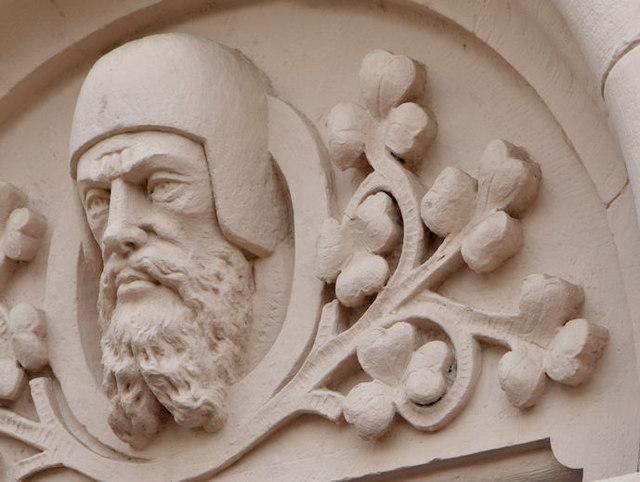 Head, Mountpottinger Presbyterian church, Belfast (2)