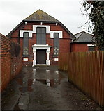 ST1166 : Front view of St John Methodist Church, Barry Island by Jaggery