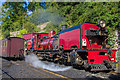 SH4862 : Welsh Highland Railway no 138 by Ian Capper