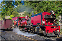 SH4862 : Welsh Highland Railway no 138 by Ian Capper