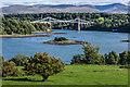 SH5471 : Menai Suspension Bridge by Ian Capper