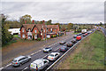 TL1653 : Queue on the A1, northbound by Richard Dorrell
