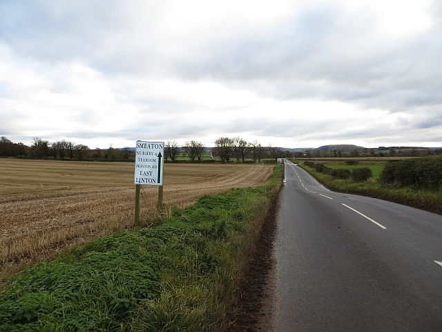 Road near East Fortune