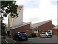 TQ3365 : St Matthew's church from the car park by Stephen Craven