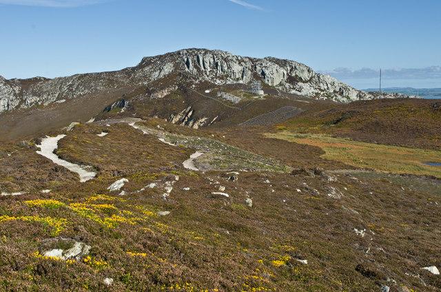 Towards Holyhead Mountain