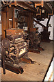 SZ4186 : Calbourne water Mill - the roller plant. by Chris Allen