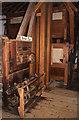 SZ4186 : Calbourne water mill - roller plant equipment by Chris Allen
