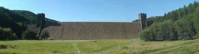 Derwent Dam Derbyshire