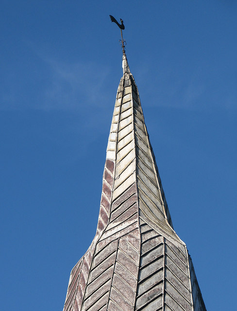 Bourn: crooked spire