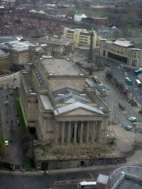 St. George's Hall from the Radio City Tower