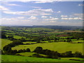 SY5393 : View from Eggardon Hill by Ian Andrews