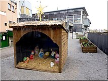 H4572 : Christmas Nativity Display, Omagh by Kenneth  Allen