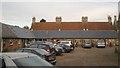 SP8659 : Shopping Yard, Castle Ashby by Robin Stott