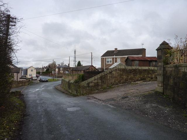 Street scene in Moss