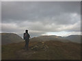 NY4005 : The top of Wansfell (Baystones) by Karl and Ali
