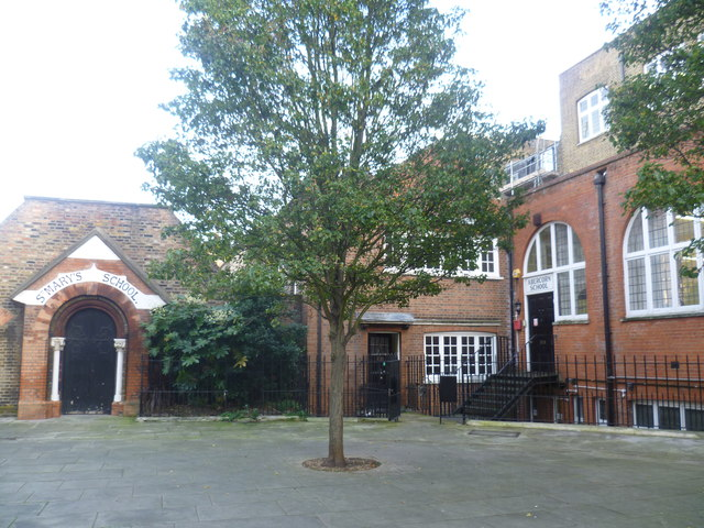 The former St Mary's Bryanston Square Church of England Primary School.