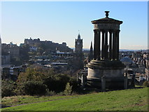 NT2674 : Towards Edinburgh Castle by Carol Walker