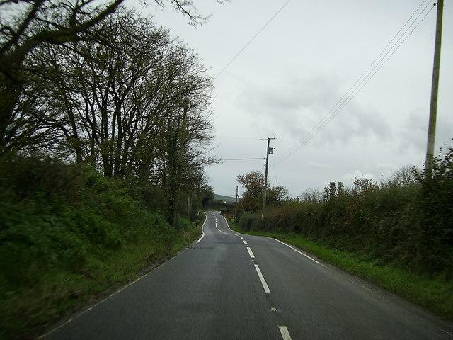 A487 southwest of Eglwyswrw