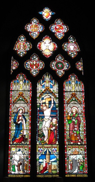 St. Mary's Cathedral, Clayton Street West, NE1 - stained glass window