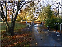 H4573 : Exercise area, Grange Park, Omagh by Kenneth  Allen