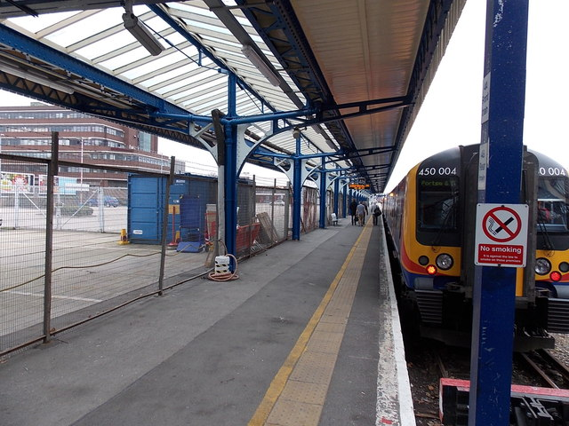 Platform 4B at Portsmouth & Southsea railway station