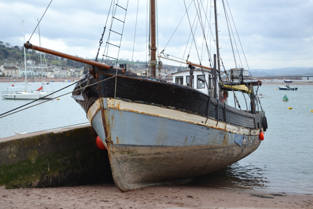 The French crabber Jean-Pierre Antoine at Teignmouth