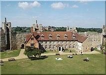 TM2863 : The Visitor Centre at Framlingham Castle by Nick Beale