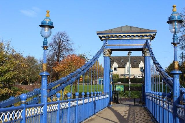 St Andrews Suspension Bridge & Glasgow Green