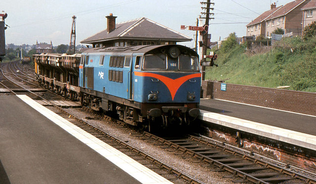 Ballast train, Ballymena (1982)