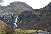 NN1868 : An Steall from the exit from Nevis Gorge by Jim Barton
