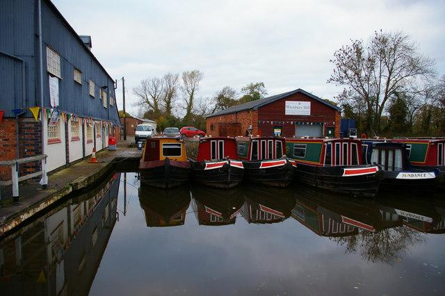 Boatyard, Wrenbury Bridge