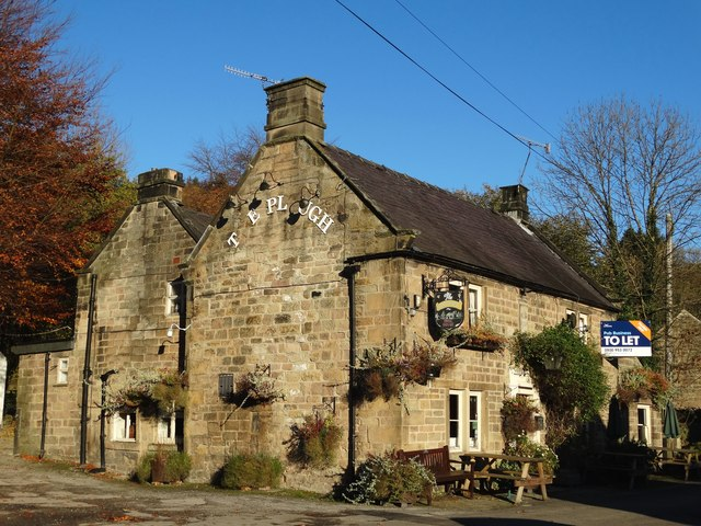 """""""The Plough Inn"""", Two Dales"""