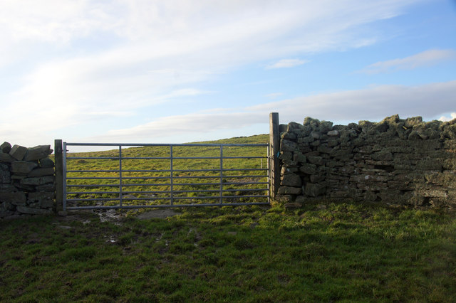 Gate on the Ness of Sound, Lerwick