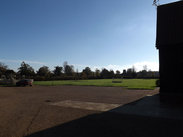 Brandeston Car Park & Playing Field