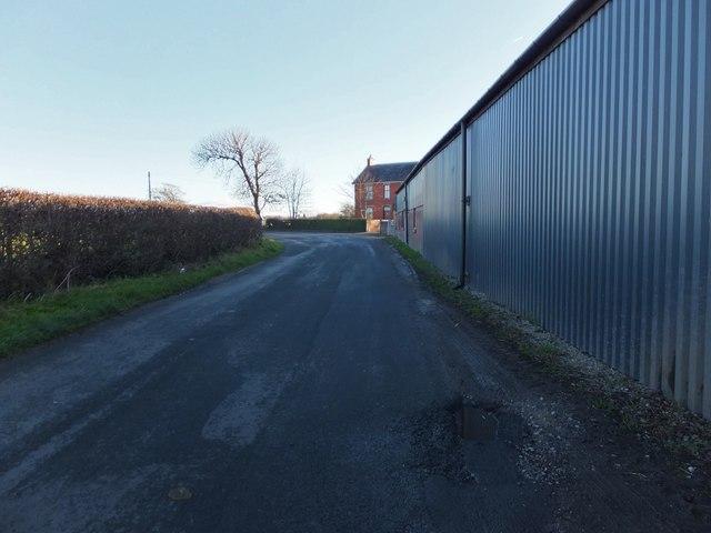 Whin Lane, by Rose Farm