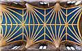 NT2573 : Nave ceiling, St Giles Cathedral by William Starkey
