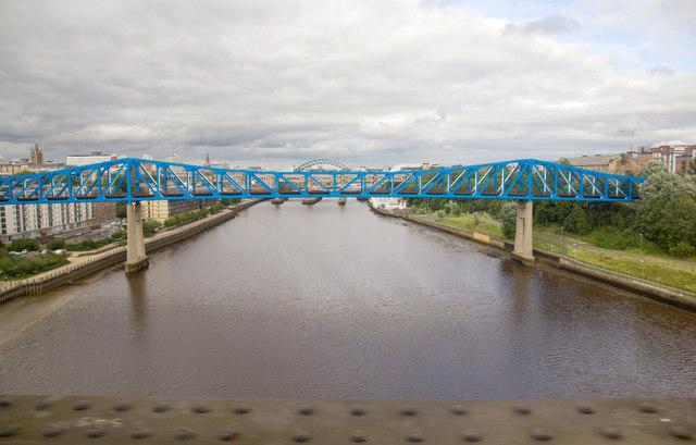 Queen Elizabeth II Bridge over the Tyne
