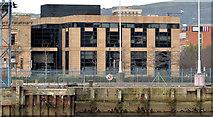 J3475 : Extension, Belfast Harbour Office by Albert Bridge